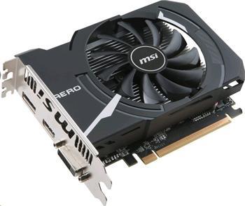 Rozbaleno - MSI Radeon RX 560 AERO ITX 4G OC / PCI-E / 4GB / HDMI / DL-DVI-D / DP / active - RX 560 AERO ITX 4G OC