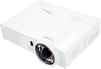 Optoma short-throw herní projektor GT760 (DLP, FULL 3D, WXGA, 720p, 3 400 ANSI, 20 000:1, HDMI, 2x VGA, 2W speaker) - 95.8TN01GC1E
