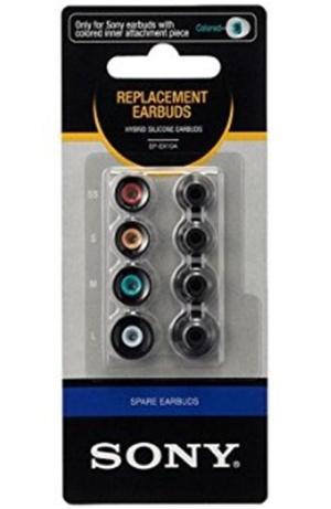 Sony náhradní silik. koncovky do sluchátek, černé - EPEX10AB.AE