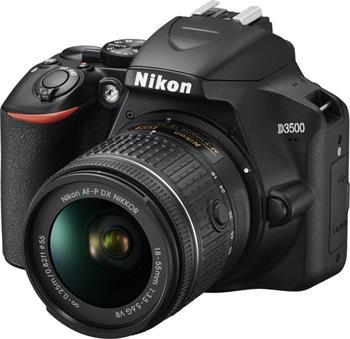 NIKON D3500 Black + 18-55 VR AF-P - VBA550K001