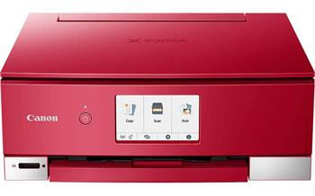 Canon PIXMA TS8252 červená - 2987C046