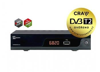 Tele Systems TS6820 2xDVB-T2 H.265 HEVC přijímač - TS6820