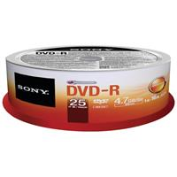 DVD-R Sony 4.7GB Spindl 16x baleno po 25ks - 25DMR47SP