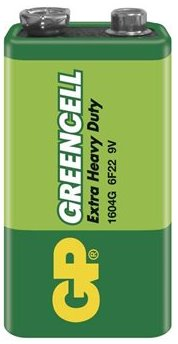 Baterie GP Greencell 9VG, 9V 1ks - GP 1604G