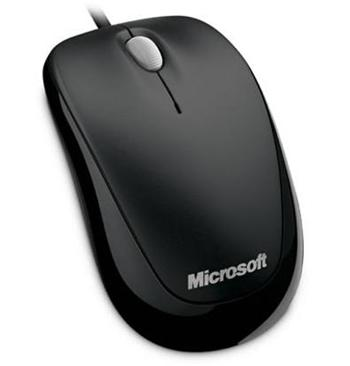 Myš Microsoft Compact Optical Mouse 500 Black USB - U81-00083