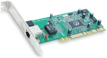 D-Link Gigabit Ethernet Adapter, PCI Bus 2.2, 32 Bit, 1000BaseT NWa - DGE-528T
