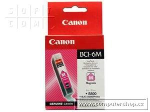 Canon BCI-6M purpurová náplň S800,900,i560,IP3000,4000,5000 - 4707A002
