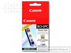Canon BCI-6PC azurová foto náplň S800,900 - 4709A002