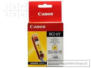 Canon BCI-6Y žlutá náplň S800,900,i560,IP3000,4000,5000 - 4708A002
