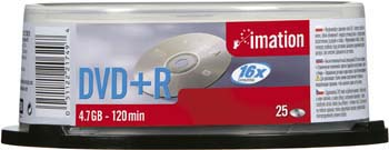 DVD+R 3M Imation 4.7GB 16x spindl balení po 25ks - i21749