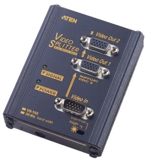 ATEN VS-102 2-portový VGA rozbočovač 250MHz - VS-102