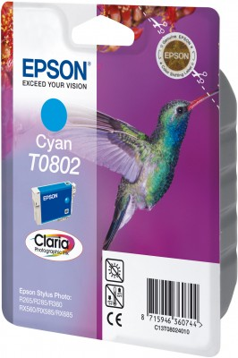 Epson ink bar CLARIA Stylus Photo R265/ RX560/ R360 - cyan - C13T08024011