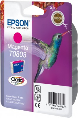 Epson ink bar CLARIA Stylus Photo R265/ RX560/ R360 - magenta - C13T08034011