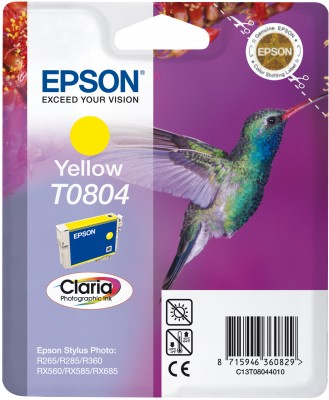 Epson ink bar CLARIA Stylus Photo R265/ RX560/ R360 - yellow - C13T08044011