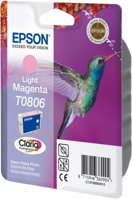 Epson ink bar CLARIA Stylus Photo R265/ RX560/ R360 - light magenta - C13T08064011