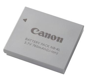 9763A001 Canon NB-4L akumulátor pro Ixus 30/40 - 9763A001