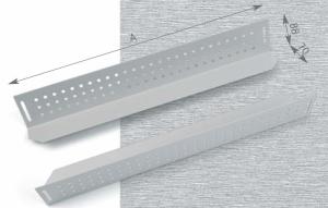Triton nosné ližiny 900mm (L=668mm) - pár - RAX-NL-X03-X1