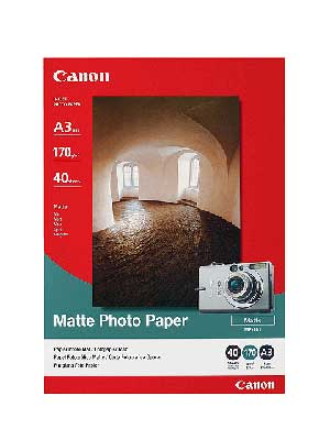 Canon MP-101A3 Photo paper plus matte A3, 40 listů, 170g/m2, mat. - 7981A008