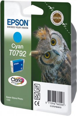 Epson ink bar Stylus Photo R1400 - Cyan - C13T07924010