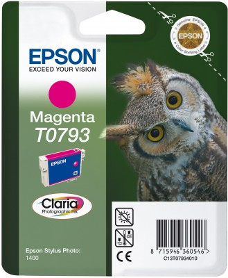 Epson ink bar Stylus Photo R1400 - Magenta - C13T07934010