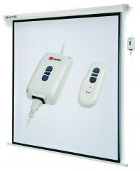 Projekční plátno NOBO - elektrická roleta (uhl. 240cm; 192×144cm) - 1901972
