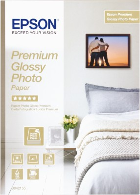 Epson paper A4 Premium Glossy Photo (15 sheet), 255g/m2 - C13S042155