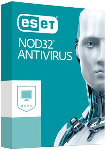 ESET NOD32 Antivirus 10, 4lic na 2 roky, prodloužení, el.licence - SFT02964