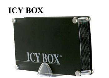 "Raidsonic Icybox IB-351AStU-B IDE+SATA 3,5"" hliník black USB - IB-351AStU-B"