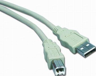 USB 2.0 kabel A-B 3m - ku2ab3
