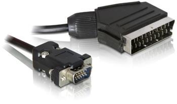 VGA kabel propojovací DB15M-SCART 2m - pozor na kompatibilitu ! - 11.92.4022