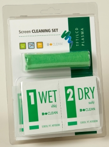 D-Clean Screen CLEANING SET s D WIPES - DN-1101