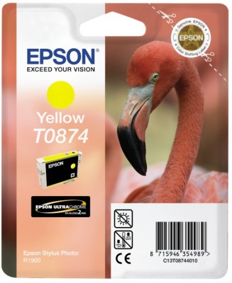 Epson ink bar Stylus Photo R1900 - Yellow - C13T08744010