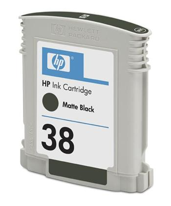 HP Ink Cart Matte Black No. 38 pro Photosmart Pro B9180, C9412A - C9412A