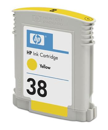 HP Ink Cart Yellow No. 38 pro Photosmart Pro B9180, C9417A - C9417A