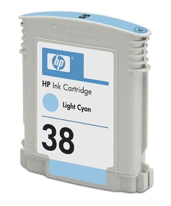 HP Ink Cart Light Cyan No. 38 pro Photosmart Pro B9180, C9418A - C9418A