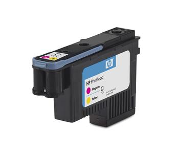 HP No. 70 Magenta and Yellow Printhead pro DJ Z2100, C9406A - C9406A