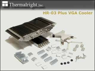 Thermalright HR-03 Plus VGA cooler - HR-03