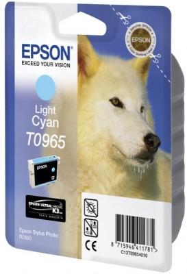 Epson ink bar Stylus Photo R2880 - light Cyan - C13T09654010