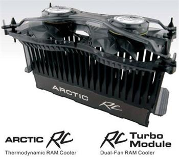 Arctic-cooling RC - RAM Cooler Active (RC - RAM + RC - Turbo) - RC - RAM Cooler Active