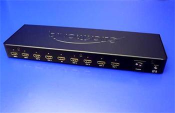ClickTronic Distribuční systém HDMI na 8 monitorů - HC 418