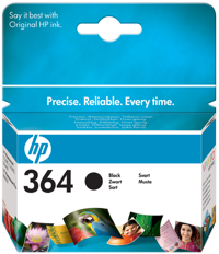 HP Ink Cart Black No. 364 pro HP D5460 - CB316EE