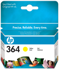 HP Ink Cart Yellow No. 364 pro HP D5460 - CB320EE