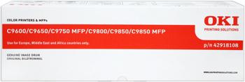 Oki Obraz. válec pro žlutý toner do C9600/9800/MFP (30k) - 42918105