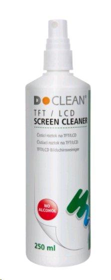 D-Clean Čistící roztok na obrazovky, LCD monitory, filtry 250ml - 3125