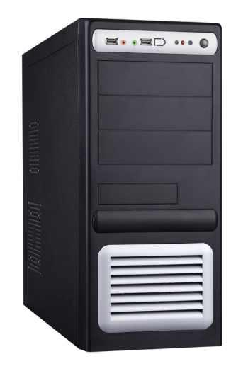 Eurocase 5435 Černo/Stříbrná, 450W, USB2, Audio, Firewire - ML 5435 CARODO 450J1