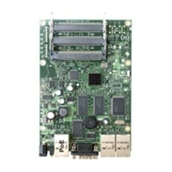 Mikrotik RouterBoard RB433AH,128MB, 3xLan, 3xMiniPCI, OSL, 680MHz - RB433AH