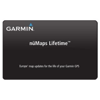 Garmin nüMaps Lifetime upgrade CityNavigator NT Europe - 010-11269-01