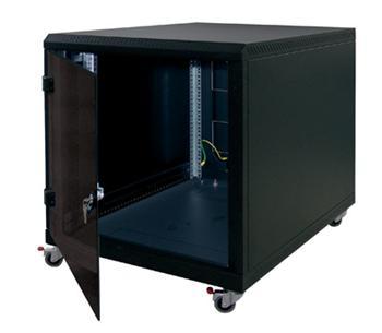 """Triton 19"""" kontejnerový rozvaděč 12U, 900hl, barva černá - RCA-12-A69-BAX-A1"""
