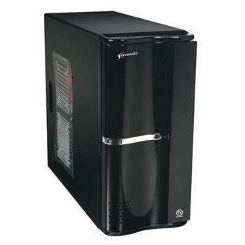 THERMALTAKE VJ50001W2Z Soprano RS 200, Černá, ATX, bez zdroje, USB, Audio - ID029017