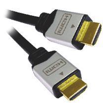 PremiumCord Kabel HDMI A - HDMI A M/M 2m zlacené konektory, verze HDMI 1.3b HQ - kphdmg2